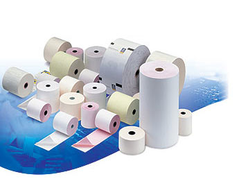 Chip & pin paper rolls, Credit card rolls, Paper rolls, Telex rolls, Till rolls, Thermal paper roll, PDQ rolls, Receipt rolls and the Roltech brand supplied by Allrol Solutions Ltd